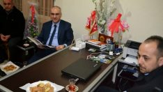 TİMURTAŞ'TAN TURGUT ÖZAL MAHALLE MUHTARLIĞI'NA ZİYARET