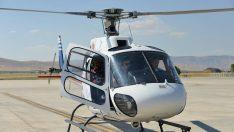 2 Başkan Çekim için Helikopterde