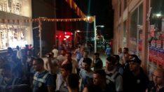 Malatya'da Gergin Saatler Hdp Binasında Yoğun Güvenlik Önlemleri