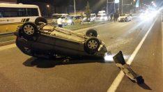 Malatya'da Kaza Ucuz Atlatıldı