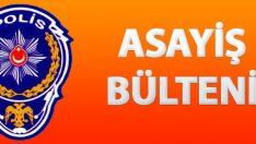 Malatya Asayiş Bülteni Günlük Olaylar 23-29 Mayıs 2016