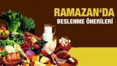 Ramazan'da Beslenme Önerileri Uzman Diyetisten Özalp Kaya Yazdi