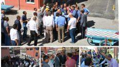 @ValiToprak  Büyük Şire Pazarını ziyaret etti.