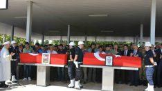 Vali Toprak Şehit Polislerimizin Cenaze Törenine Katıldı