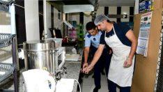 Malatya'da Zabıta Ekipleri Okul Kantinlerini Denetliyor