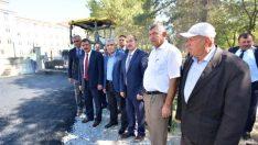 Battalgazi Belediyesi Tarafından Okul Yolları Asfaltlandı