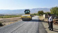 Malatya Hacıyusuflar Mahallesinin Yolları Asfaltlandı