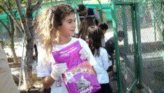 Malatya'da İlkokul öğrencileri hayvan barınağını ziyaret ettiler