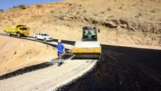 Malatya Karagöz Mahalle Yolu Asfaltlandı