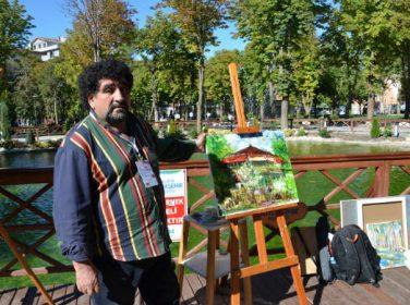 19.TÜRKSOY Ressamlar Buluşması kapsamında Hürriyet Parkı'nda etkinlik düzenlendi