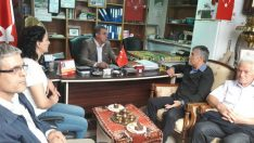 Selahattin Sarıoğlu Kernek ve Kırçuval mahallelerini ve muhtarlarını ziyaret etti.