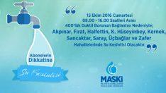 Malatya'da 9 Mahallede Su Kesintisi Yaşanacak