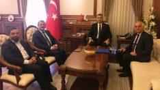 Başkan Çapcı, Vali Toprak'a nezaket ziyaretinde bulundu.