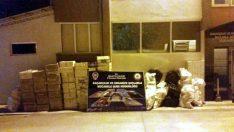 Malatya'da 45.390 Paket Kaçak Sigara Ele Geçirildi