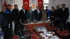 Malatya İl Emniyet Müdürü Dr.Ömer Urhal , 10 Ocak Çalışan Gazeteciler Günü nedeniyle Anadolu Basın Birliği Malatya Şubesini Ziyaret Etti.