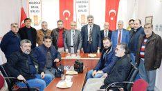 Veteriner Hekimler Odası Başkanı Özdemir, Anadolu Basın Birliğine Ziyaret