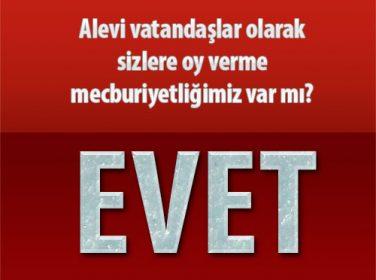 Malatya'da Alevi Vatandaşlardan CHP'ye Tokat Gibi Cevap: Alevi vatandaşlar olarak sizlere oy verme mecburiyetliğimiz var mı?