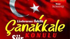 Malatya'da Tüm öğrencilerin katılabileceği şiir yarışmasına başvurular 10 Mart 2017 tarihinde sona erecek.