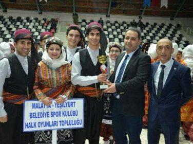Malatya'da Halk Oyunları İl Birinciliği Yarışması Yapıldı…