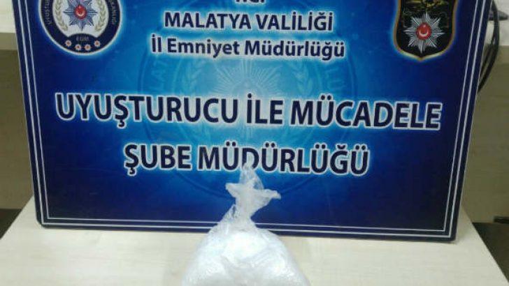 Malatya'da metamfetamin maddesi ele geçirildi 2 Şahıs gözaltına alındı