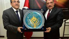 Bakan Yardımcısı Alpay ve Beraberindeki Heyet , Gürkanı'ı Ziyaret Etti
