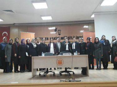 Malatya Kadem Cumhurbaşkanlığı Sistemi Üzerine Konuştu