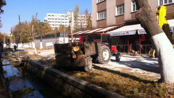 Malatya kimliği ana damarlarından biri olan Kanalboyu'ndan kanatılmaya devam olunuyor!