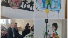 Orduzu Rifat Kıranoğlu Anaokulu koridorları sanat sokağına dönüştü