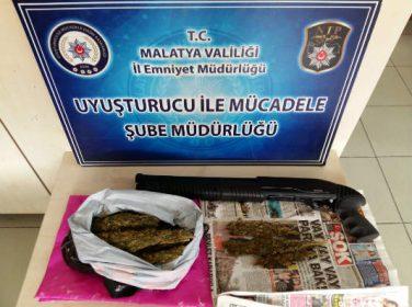 Malatya'da Uyuşturucu Maddeler Ele Geçirildi.8 Şahıs Tutuklandı