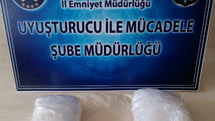 Malatya'da Bir Yolcu Otobüsün'de Metamfetamin Maddesi Ele Geçirildi