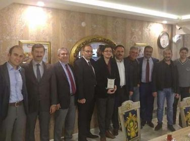Malatya 1. Ağır Ceza Mahkemesi Başkanı Vedat Koç'tan, FETÖ ihracına Plaketli  Veda
