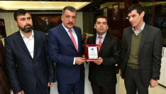Malatya Gençlik Görme Engelliler Spor Kulübü Yönetimi, Başkan Gürkan'ı Ziyaret Etti