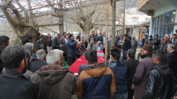 Ağbaba, Doğanşehir'den seslendi