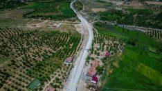 Kuzey kuşak yolunun önemli akslarından biri olan ve Malatya'yı Dilek mahallesine bağlayan 10 kilometre uzunluğundaki yolda