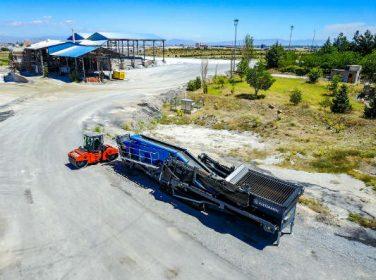 Saatte 500 ton malzeme çıkarma kapasitesine sahip
