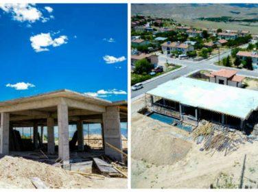 Tohma Kültür Merkezi İnşaatı Devam Ediyor
