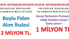 Malatya'da Yolsuzluklar bir bir kapaniyor kapatanlardan #kurtulmalatya @RT_Erdogan @varank