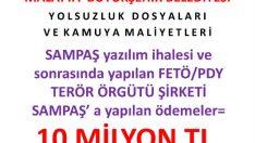 Bir Fetö Şirketi Olan Sampaş yazılımını Malatya Büyükşehir Belediyesi Kullanıyor @RT_Erdogan