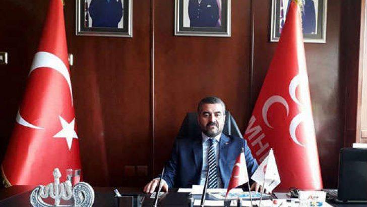Malatya MHP(Milliyetçi Hareket Partisi)İl Başkanı Bülent Avşar, 10 Kasım Atatürk'ü Anma mesajı yayınladı