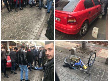 Kanalboyunda Yaramalı Trafik Kazası Bisiklet Sürücüsü – Whatsapp Malatya  Haber İhbar Hattı