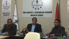 Semerkand Malatya Vakfı'ndan TÜMSİAD Malatya Şubesine Ziyaret