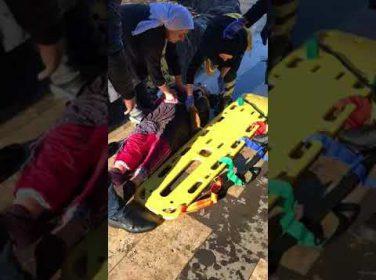 Kernek Şelalesine Düşen Kadını, Duyarlı Vatandaş Kurtardı.Video Haber