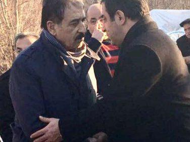 TÜMSİAD Malatya Şube Başkanı Murat GÜMÜŞ Essob Başkanı Şevket Keskine Taziyeye Gitti.