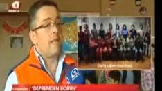 AFAD İşitme engelli miniklere deprem eğitimi verdi