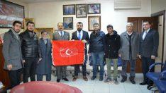 Malatya Esnaf ve Sanatkarlar Odaları Birliği (MESOB) Başkanı Şevket Keskin'e anlamlı hediye