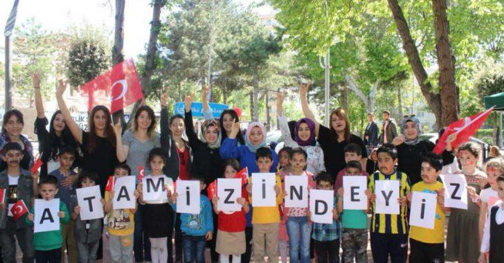 Ülkü Ocakları Malatya İl Başkanlığı Asena Birimi, 23 Nisan Ulusal Egemenlik Ve Çocuk Bayramı dolayısı