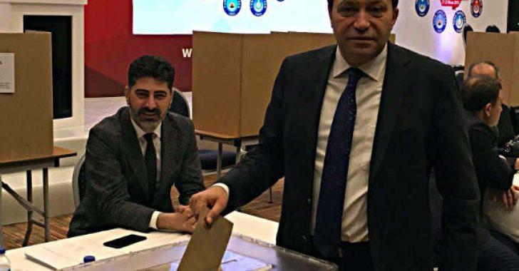 Hekimhanlı Yücel KAZANCIOĞLU Türkiye Kamu-Sen Teşkilattan Sorumlu Genel Başkan Yardımcılığına seçildi