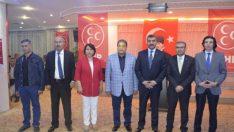 """(MHP) Malatya Milletvekili Adayı Dr. Burhan Coşkun, """"Güçlü bir MHP demek, güçlü bir Türkiye demektir. Güçlü bir MHP demek, güçlü bir Malatya demektir"""" dedi."""