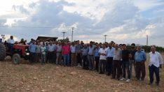Malatya'nın Yeşilyurt ilçesine bağlı Kuyulu Mahallesi'ne, Çimento fabrikası kurulmasına tepki