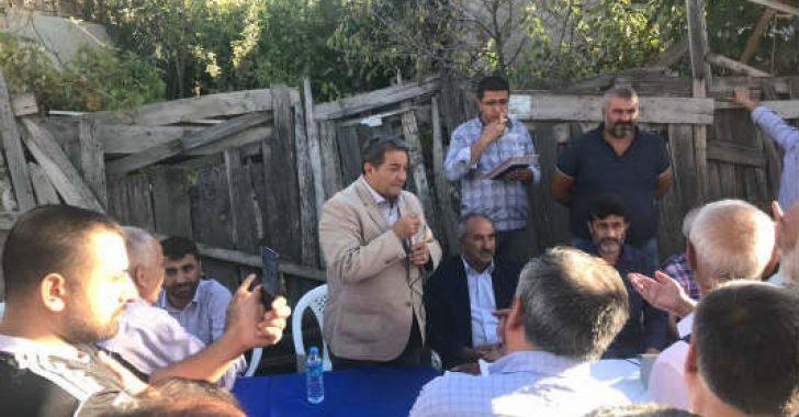 Malatya Mhp Milletvekili Fendoğlu Hiç Durmuyor.Milletvekili Fendoğlu, Beydağı Mahallesi'nde sorunları dinledi